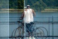 Riverfront reflection - Owensboro