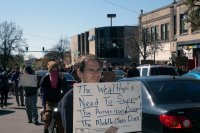 Occupy Bloomington march 5