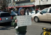 Occupy Bloomington march 8