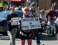 Occupy Bloomington march 11